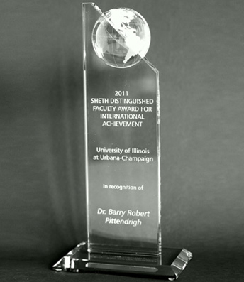 Sheth Distinguished Faculty Award for International Achievement